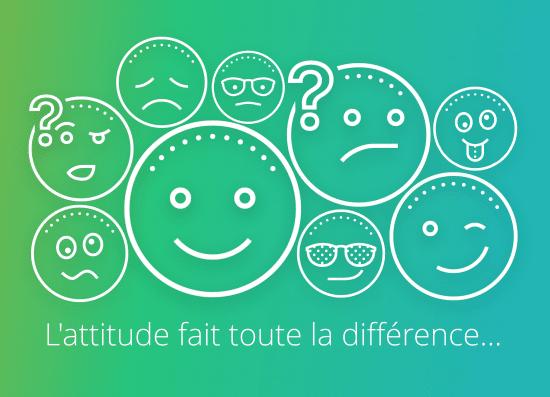 L'attitude fait toute la différence