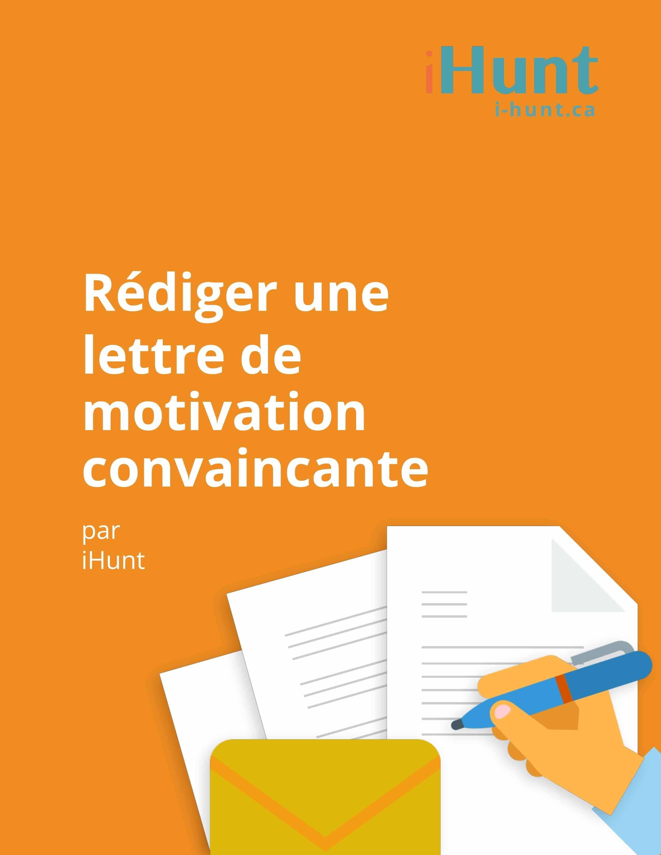 écrire une lettre de motivation