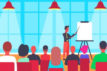 Pour apprendre à parler en public et savoir comment faire une présentation originale
